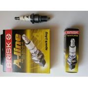 Свеча зажигания А-LINE 02 LR15YCY ВАЗ 2108-099 с резис. инд.уп.(компл. 4 шт)