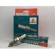 Свеча зажигания EFFECTIVE+U DK7RTCU Chery Tiggo, Chevrolet Aveo, Kia Ceed, (компл. 4 шт.)