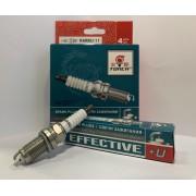 Свеча зажигания EFFECTIVE+U K6RBU-11 Skoda Fabia, Volkswagen Polo, Honda CR-V (компл. 4 шт.)