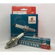 Свеча зажигания EFFECTIVE+U K5RAU-11 Chevrolet Aveo, Skoda Fabia, Volkswagen Polo (компл. 4 шт.)