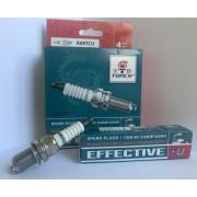 Свеча зажигания EFFECTIVE+U K6RTCU ГАЗ 3302 (дв. 405, 409) Lada Largus 1.6, Chevrolet Lacetti 1.8 (компл. 4 шт.)